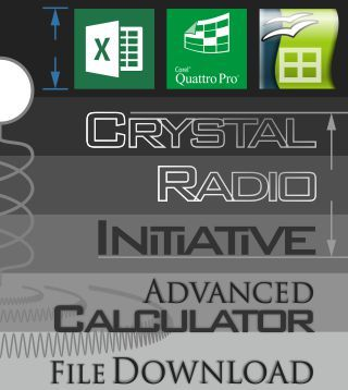 Advanced Crystal Radio Initiative Calculator