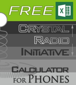 Free Crystal Radio Initiative Calculator For Phones