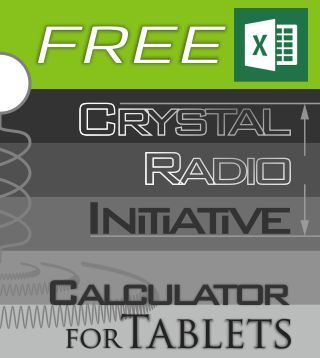 Free Crystal Radio Initiative Calculator For Tablets