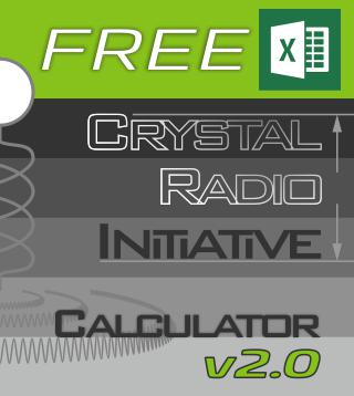 Free Crystal Radio Initiative Calculator
