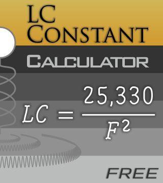 LC Constant Calculator