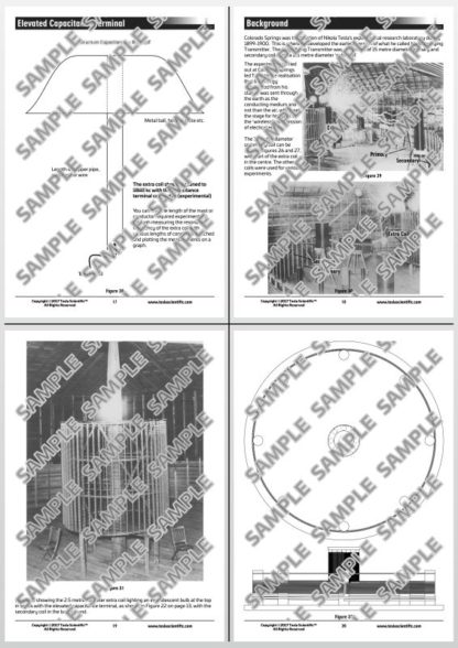 Colorado Springs Magnifying Transmitter Scale Model Design Sheet - Pages 17-20