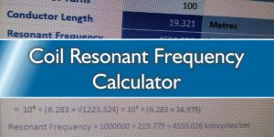Coil Resonant Frequency Calculator