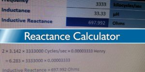 Reactance Calculator